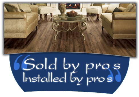 Hardwood flooring from Vantage Floorcovering in Leduc adds class to every home.